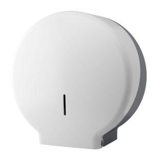 """10"""" Jumbo Toilet Roll Dispenser - white"""