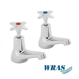 Basin Taps with Crossheads - 1/2""