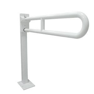 GIAMPIERI Nylon Series – Swing-up Grab Bar With Floor Anchoring