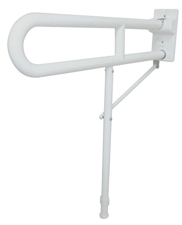 GIAMPIERI – 800mm Swing-up Grab Bar with Support to Floor