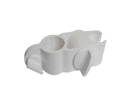 NOFER - White ABS Shower Head Support