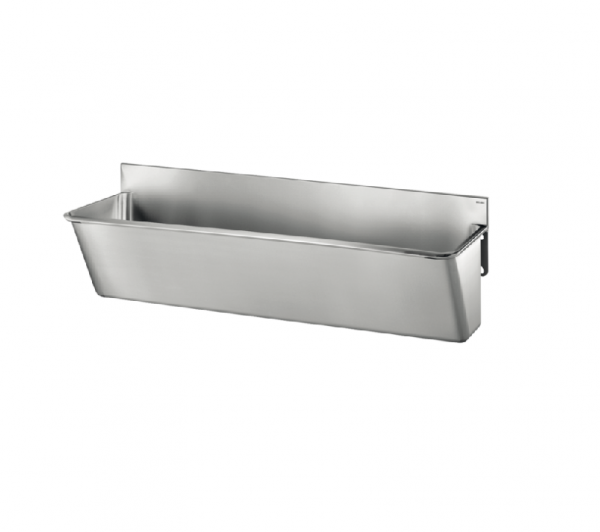 Surgical Scrub-up Trough with Low Splashback - 700mm x 420mm