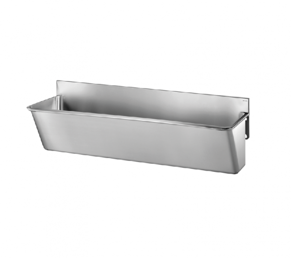 Surgical Scrub-up Trough with Low Splashback - 1400mm x 420mm