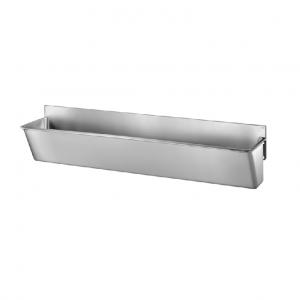 Surgical Scrub-up Trough with Low Splashback - 2100mm x 420mm