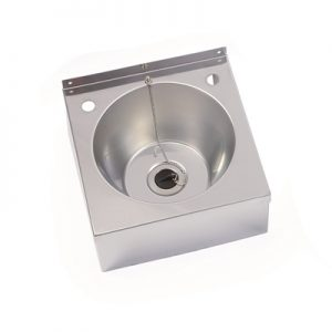 Compact Hand Wash Basin Midi - stainless steel