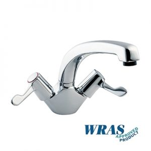 "Monoblock Sink Mixer Tap - with 8"" bi-flow Swivel Spout"