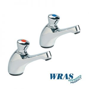 "Self Closing Basin Taps 1/2"" - pair"