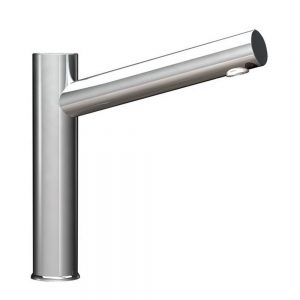 Aquarius DM Tall Pillar tap in Chrome spout only