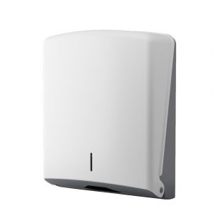 C-Fold Paper Towel Dispenser - white