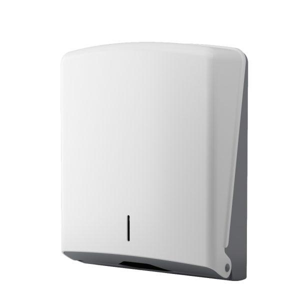 C-Fold Paper Towel Dispenser - white