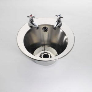 Large Round Inset Hand Wash Basin 385mm diameter