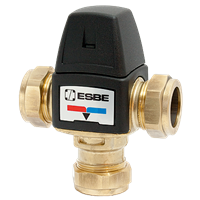 TMV3 Thermostatic Mixing Valve - ESBE (T Pattern)
