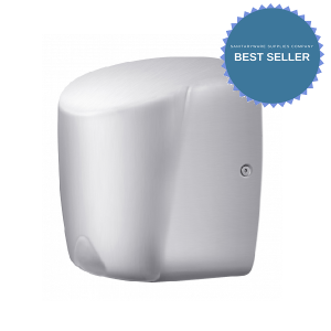 Compact Energy Efficient Hand Dryer - chrome
