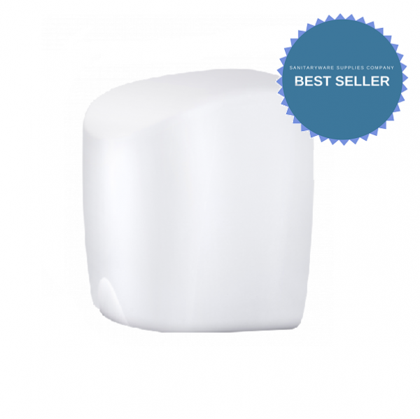 Compact Energy Efficient Hand Dryer – white