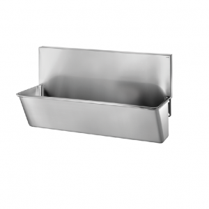 Surgical Scrub-up Trough with High Splashback - 1400mm x 440mm