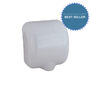 Windsor Hand Dryer - white steel
