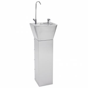 Drinking water Fountain with bottle filler & pedestal