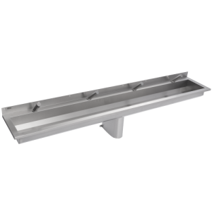 Saturn Wash Trough 2400mm Long with electronic taps
