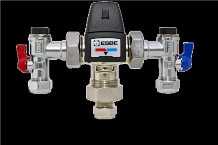TMV3 Thermostatic Mixing Valve - 22mm