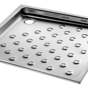 Recessed shower tray