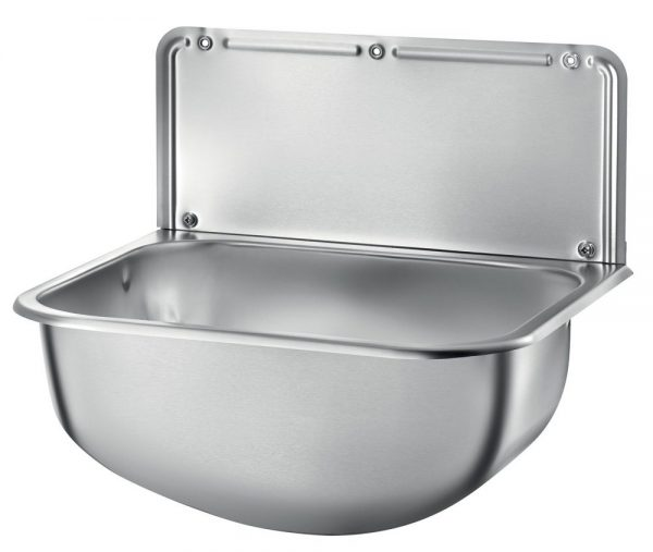 DELABIE Wall Mounted Stainless Steel Cleaner's Sink