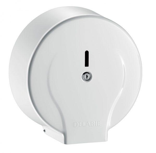 Jumbo toilet paper dispenser - 200m white steel