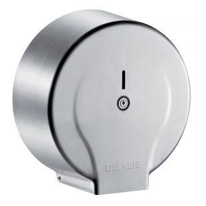 Jumbo toilet paper dispenser - 400m Stainless steel