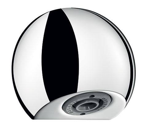 Delabie recessed scale-resistant fixed shower head