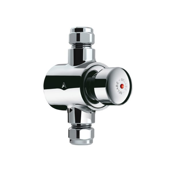 Exposed time flow shower valve Tempostop