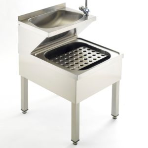 Stainless Steel Janitorial Cleaner's Sink