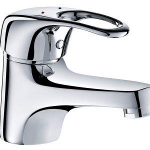 Mechanical basin mixer tap