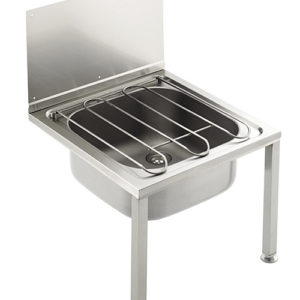 Stainless steel Janitorial Bucket Sink