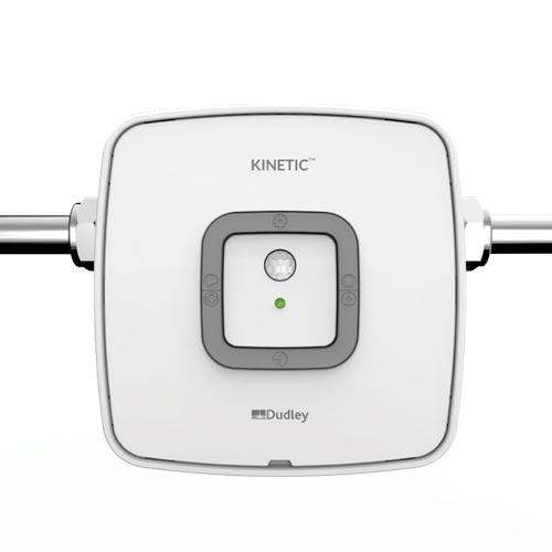 Kinetic intelligent urinal flush control