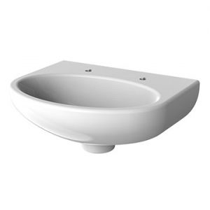 Resan vandal resistant oval washbasin
