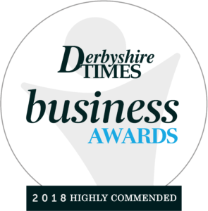 Recognition for Sanitaryware Supplies company at the 2018 Derbyshire Times Business Awards