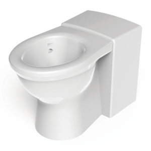 Resan less abled vandal resistant wc