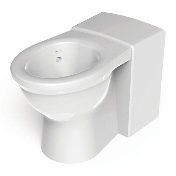 Resan less abled vandal resistant wc