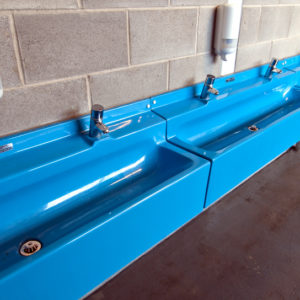 Sanquip GRP Wash Troughs