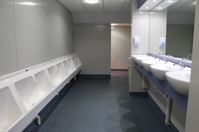 Sanquip GRP urinals