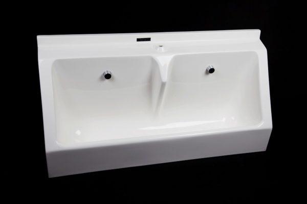 Sanquip 2 user GRP wall hung waterless urinal