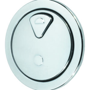 Dudley 73.5mm CP round dual flush push button