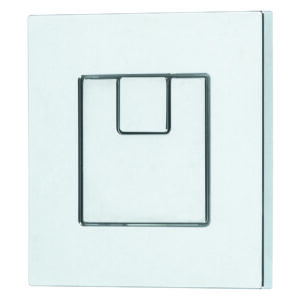 Dudley Piazza 73.5mm Square Dual Flush Push Button